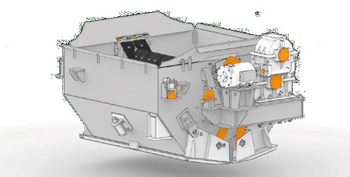 Привод разгрузки, бункер и узлы взвешивающего устройства